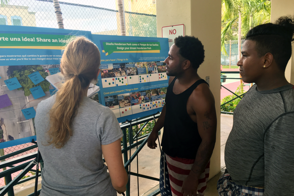 Civic Engagement Process at Henderson Park, Miami